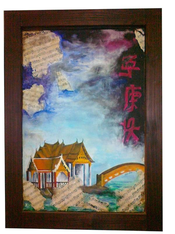Stephanie Pais - Painting - A Thai Interpretation