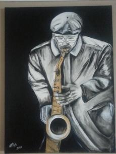 Stephanie Pais's Sax Man