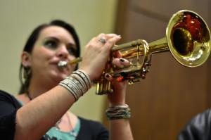 Trumpet Player Stephanie Pais